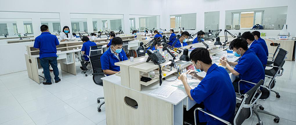 AnB Dental Manufactory đầu tư máy móc công nghệ cao
