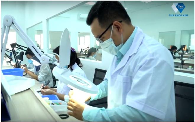 Nhà máy sản xuất răng sứ hiện đại của AnB Dental Manufactory
